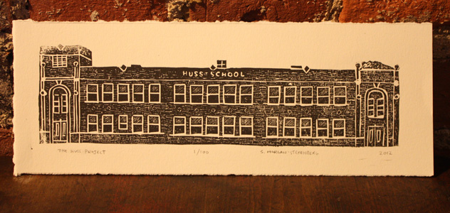 Brick Campaign print