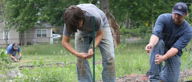 2013 garden work day