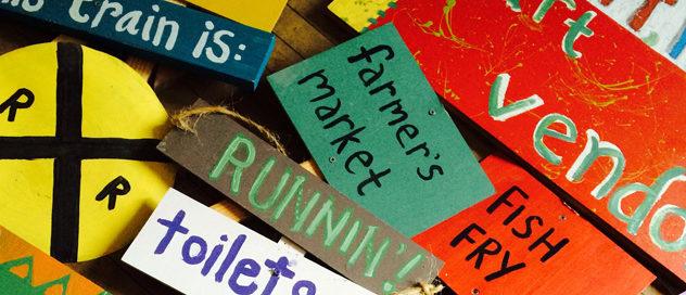 Hussagram: Future Fest signs