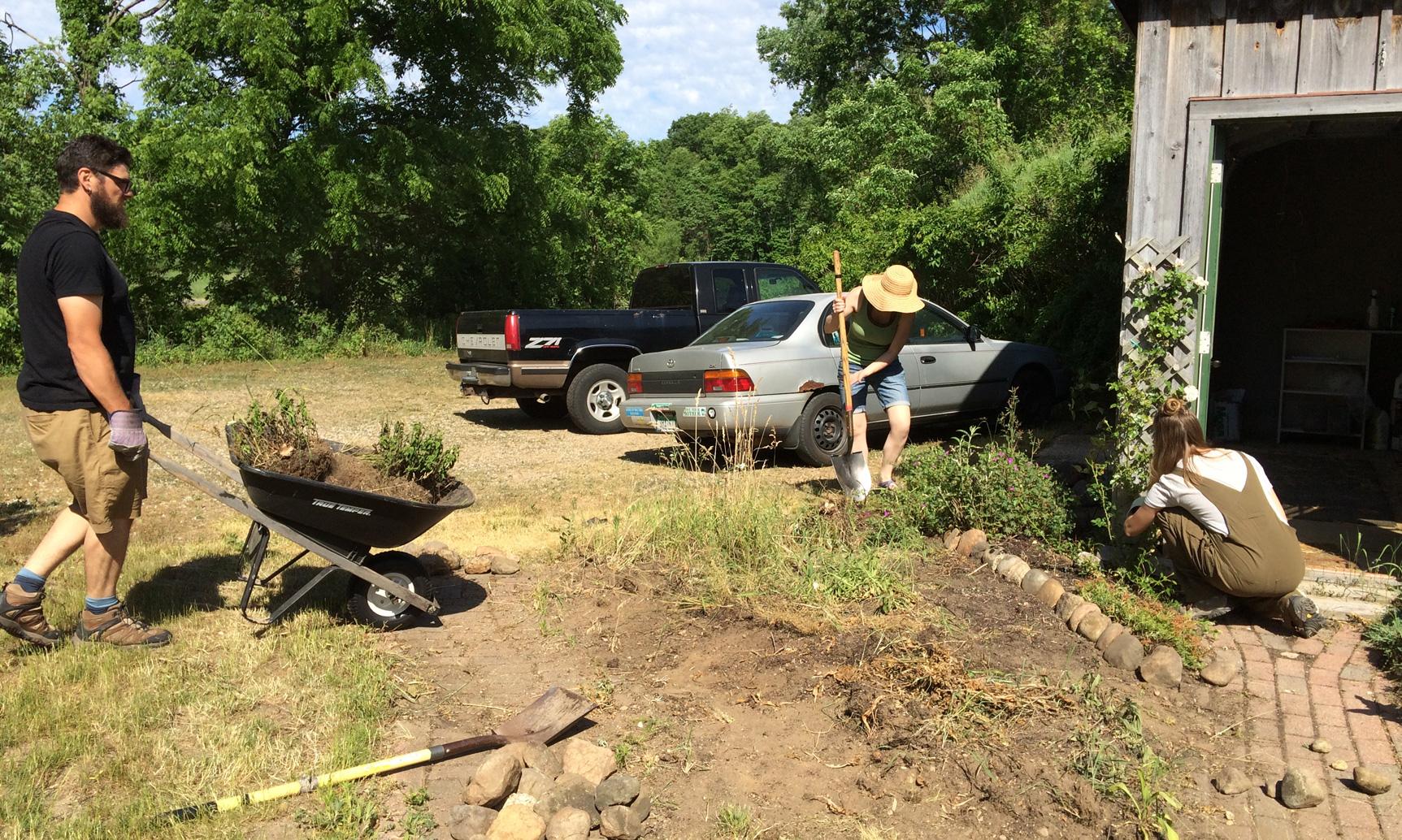 Hussagram: Gardening at GilChrist