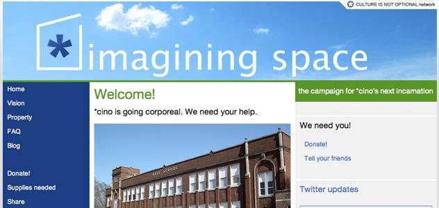 Imagining Space site