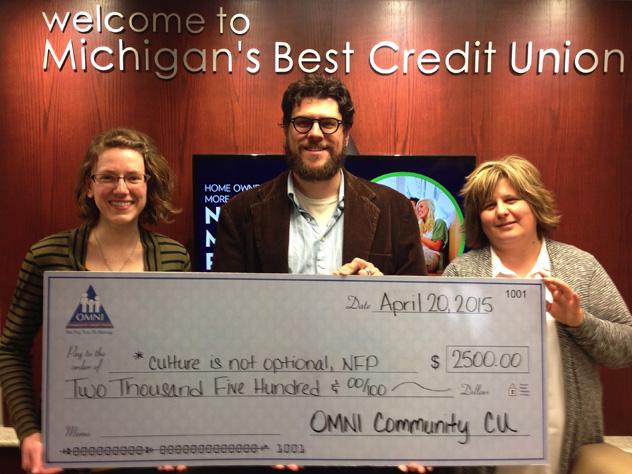 Omni Community Credit Union grant